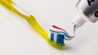 フロスと歯磨き。4歳はなんでもお見通し