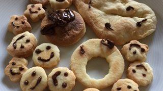 4歳。初めてのクッキー作りと、おすそわけ精神