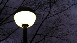 5歳の好奇心。真夜中の星空と街の明かり