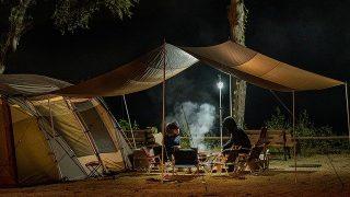 テントキャンプに家族で初挑戦!